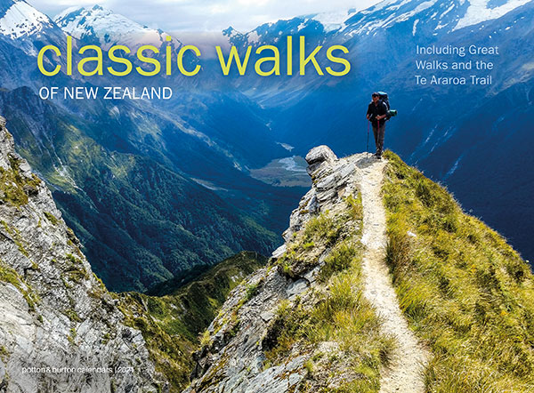 2021 Classic Walks Of New Zealand Calendar