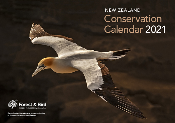 2021 New Zealand Conservation Calendar