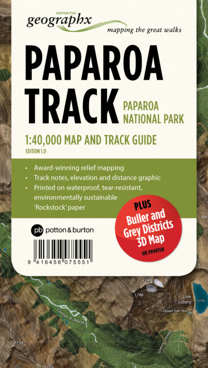 Paparoa Track Map