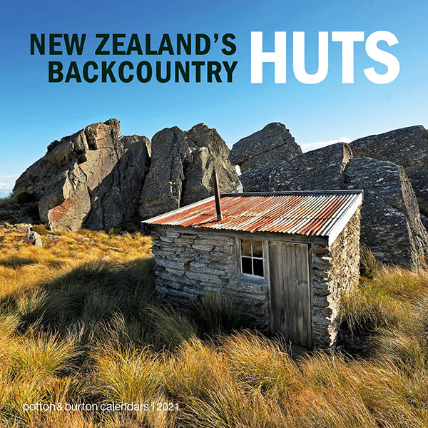 2021 New Zealand's Backcountry Huts