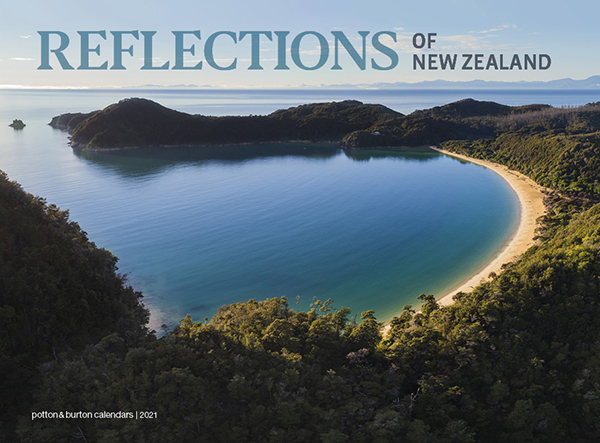 2021 Reflections Of New Zealand Calendar