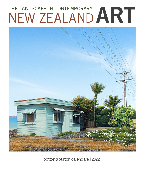 2022 The Landscape In Contemporary New Zealand Art CD Calendar