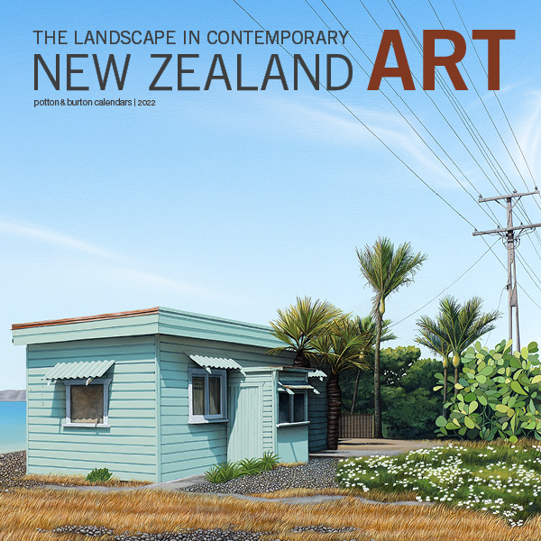 2022 The Landscape In Contemporary New Zealand Art Calendar