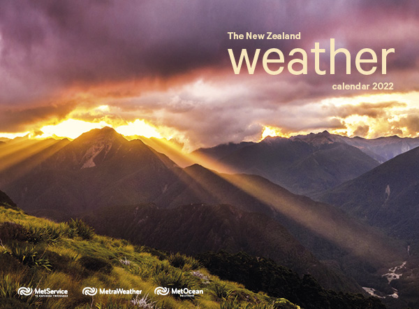 2022 The New Zealand Weather Calendar
