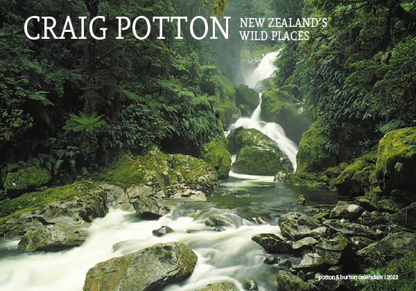 2022 New Zealand's Wild Places Calendar