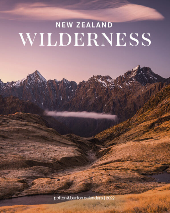 2022 New Zealand Wilderness Calendar